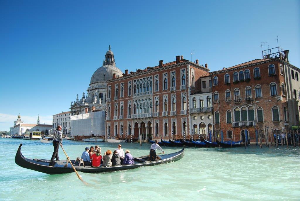 Escapade à Venise à bord d'un bateau