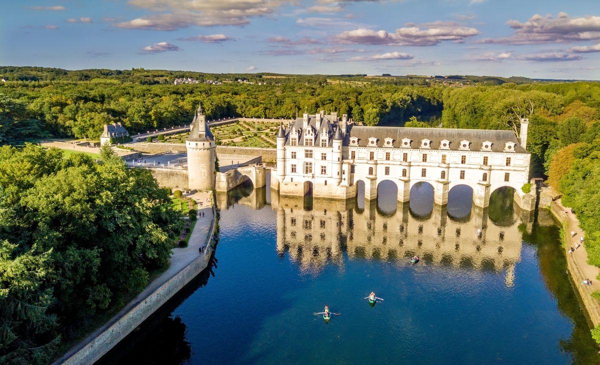 Chateaux de la Loire, région Sud-Est
