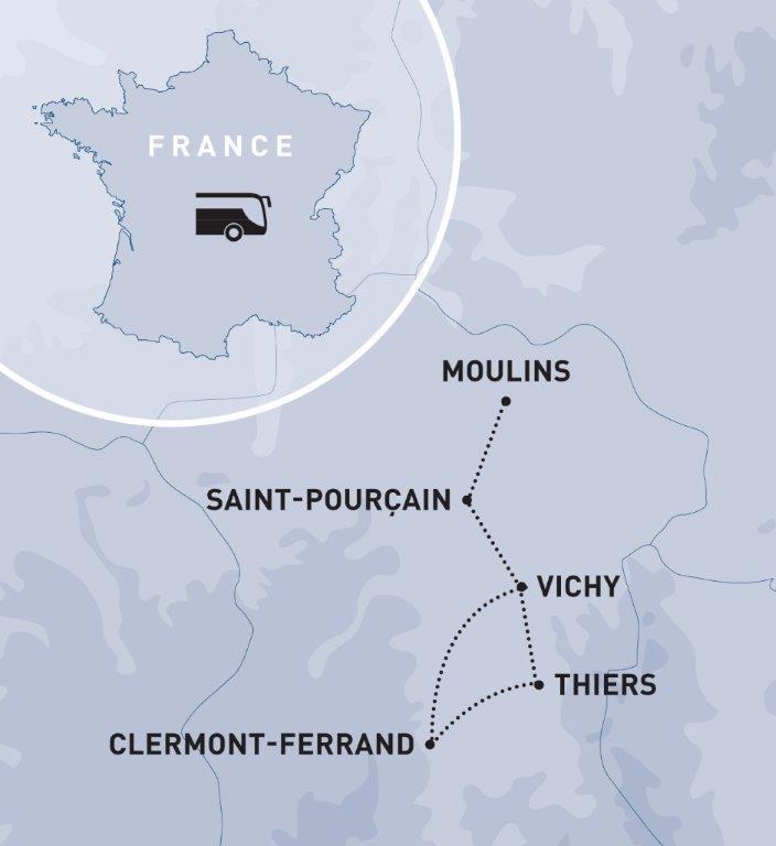 Réveillon du Nouvel An à Vichy, Région Grand-Ouest & Paris
