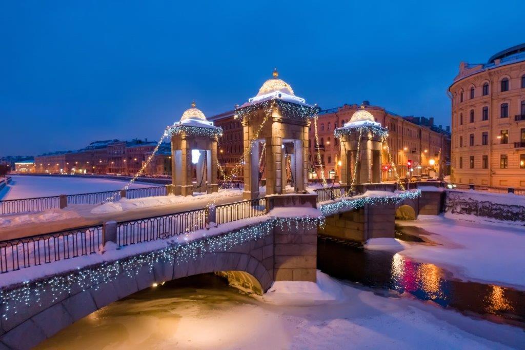 Réveillon de la St-Sylvestre à St-Pétersbourg
