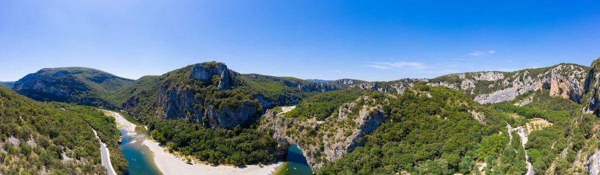 Ardèche, Haut lieu de la nature, Région Grand-Ouest & Paris