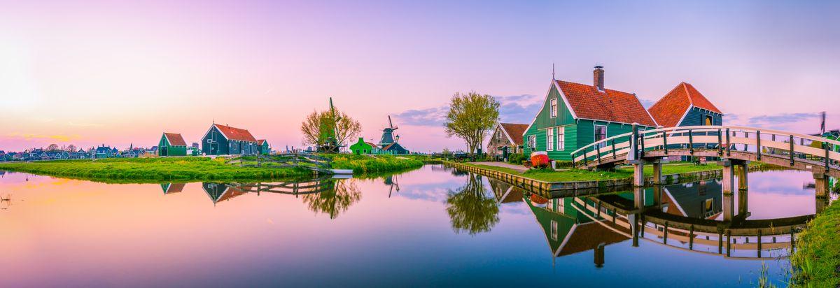 CROISIERE EN HOLLANDE : Le pays des canaux et des fleurs, Région Sud-Ouest