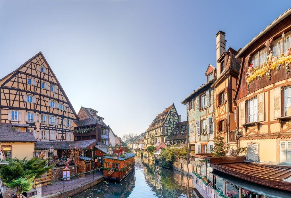 Les marchés de Noël en Alsace, Colmar et Strasbourg, Région Sud-Ouest