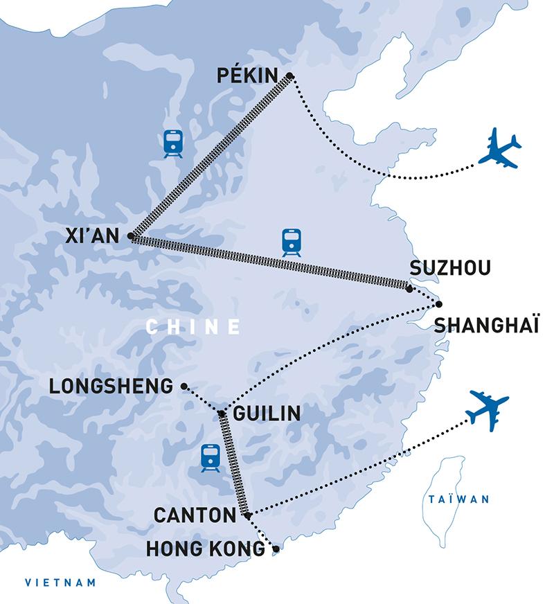 Légendes de Chine & Séjour à Hong Kong