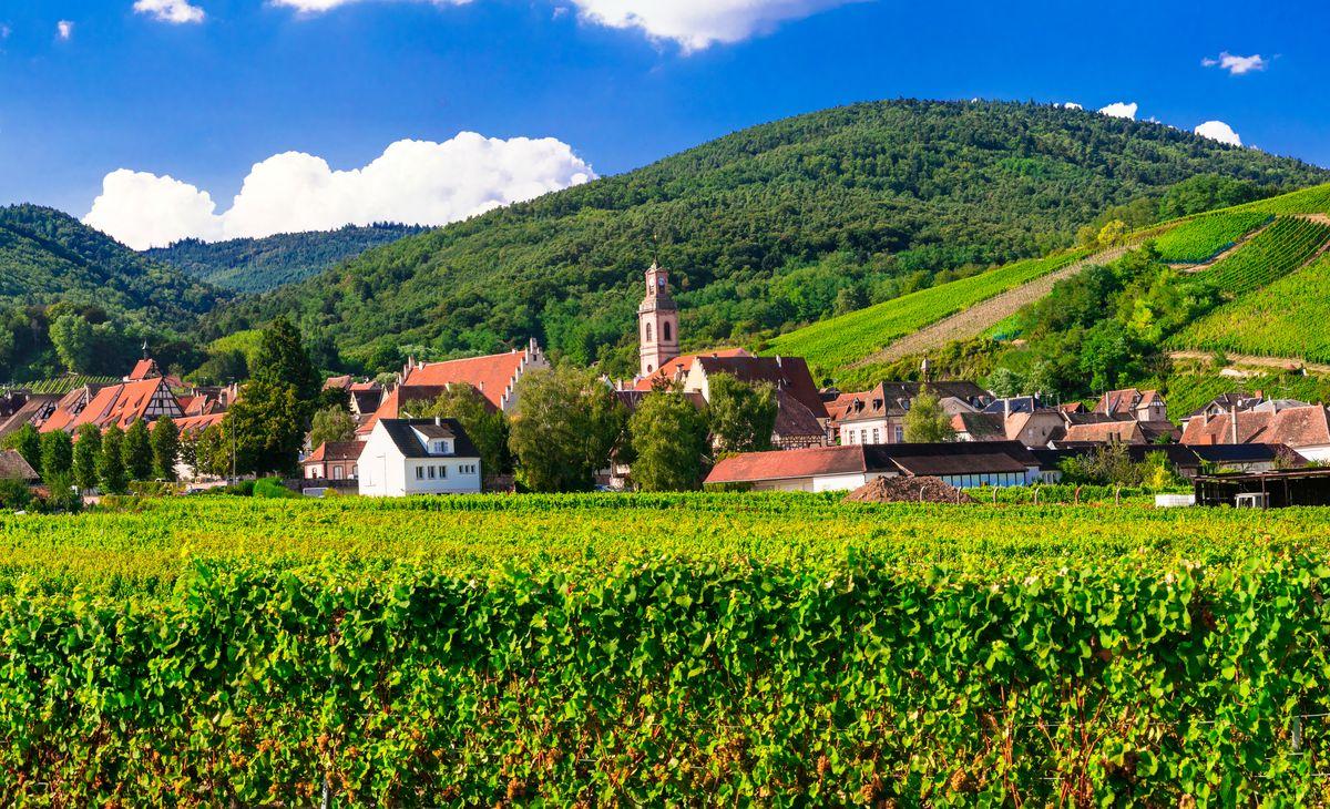Alsace et Vosges : De routes célèbres en cités remarquables, Région Sud-Ouest