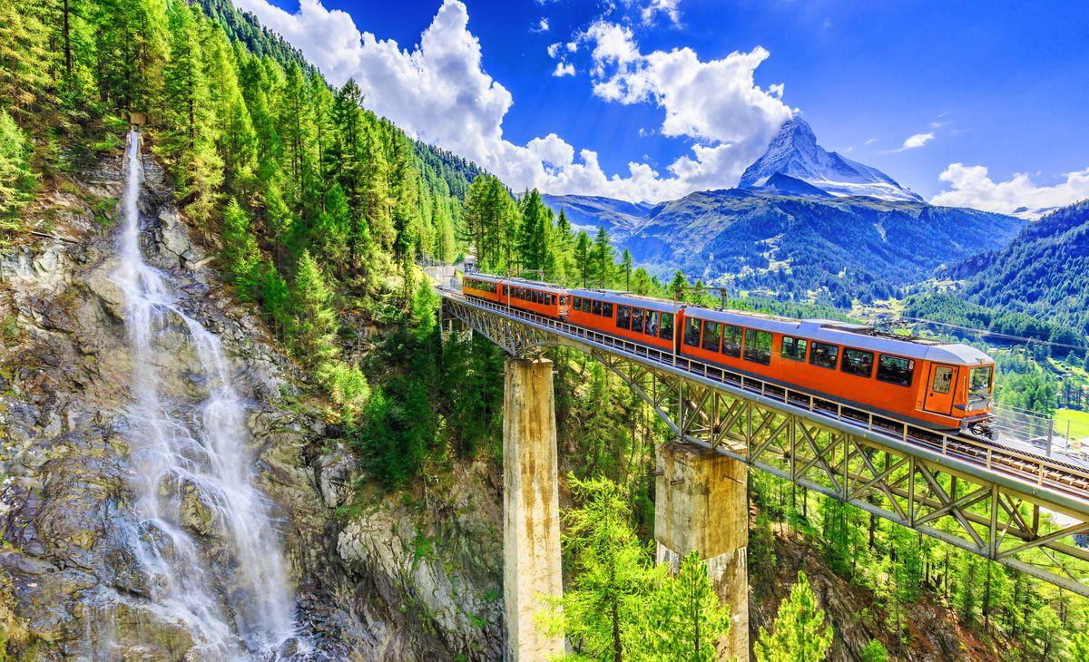 Les célèbres Trains Suisses, Région Grand-Ouest & région Parisienne