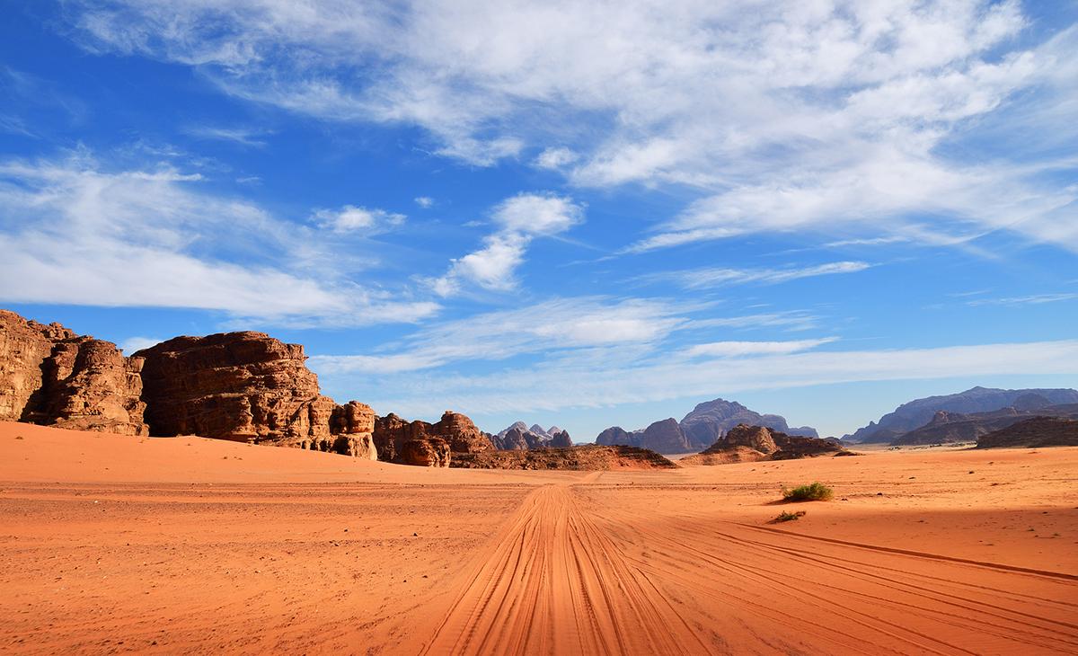 Sur les traces de Lawrence d'Arabie