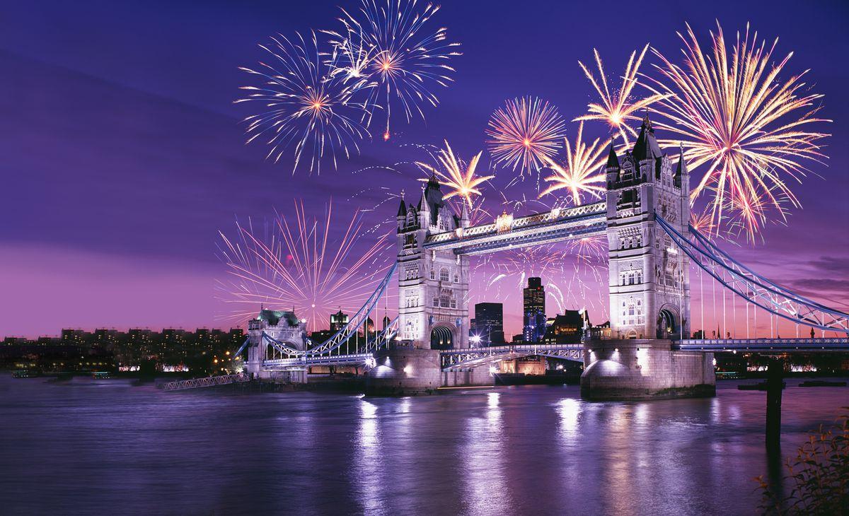 Réveillon de la St Sylvestre à Londres, Région Grand-Ouest & Paris