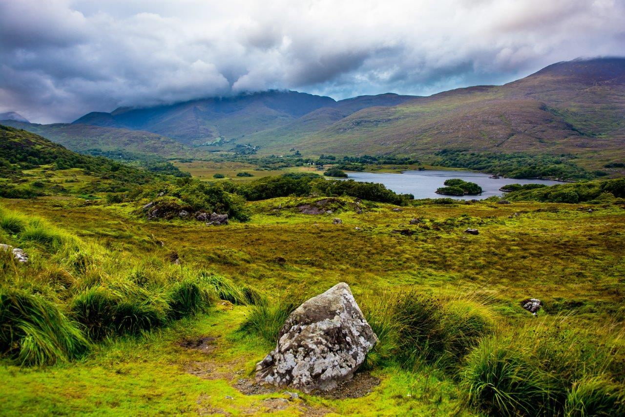 Splendides paysages d'Irlande