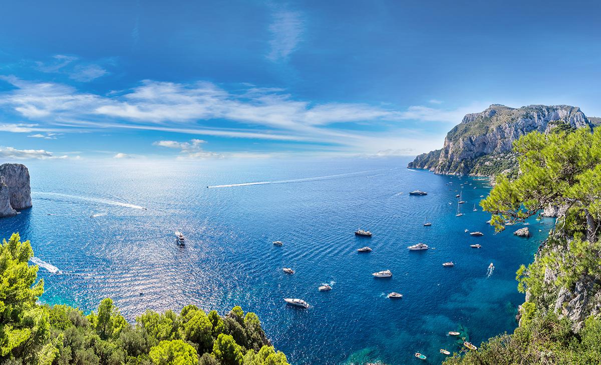 Rome, Naples, Capri, Florence, Région Sud-Ouest
