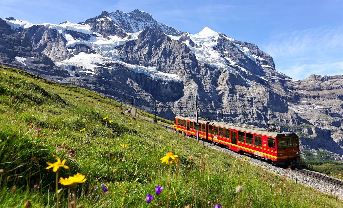 Les plus hauts sommets suisses, région Sud-Est