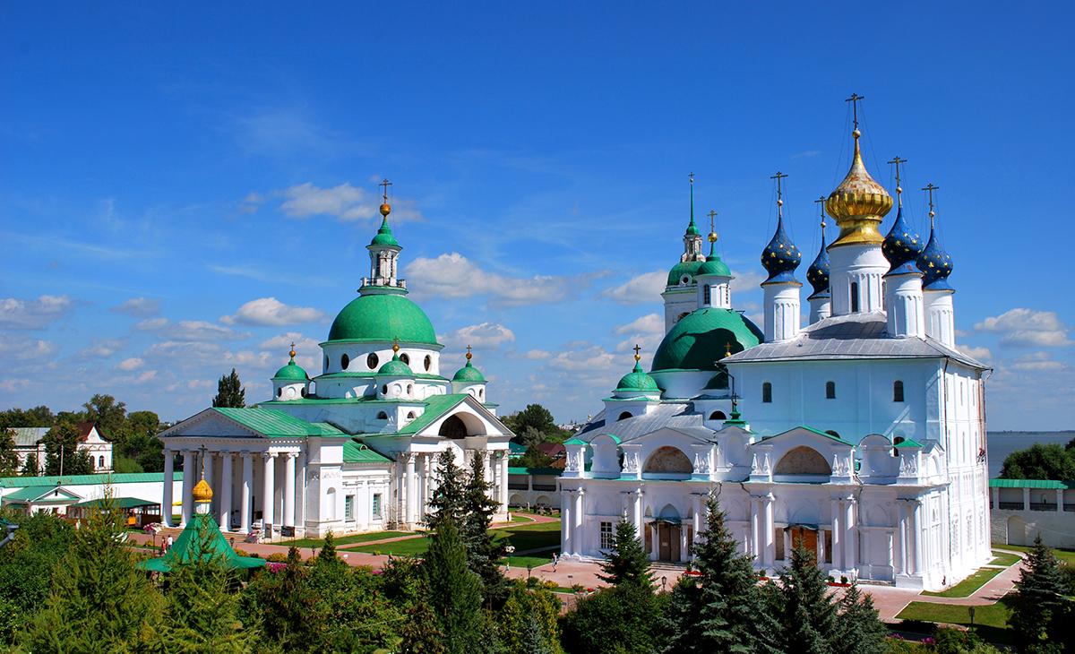 Saint-Pétersbourg, Moscou et l'Anneau d'Or
