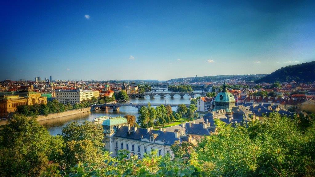 Prague, Moravie et Bohème du Sud, Région Sud ouest