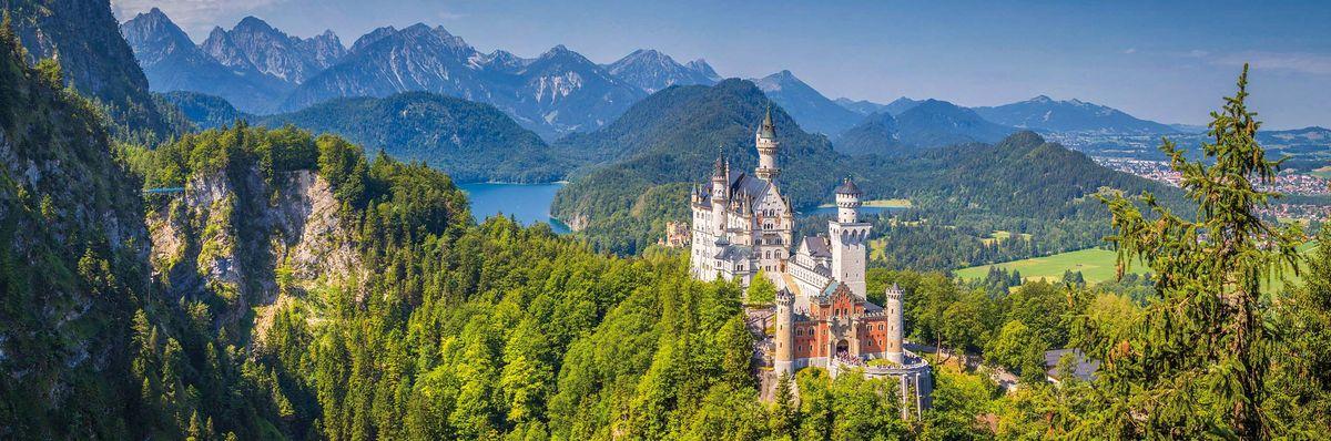 LA BAVIERE : le Lac de Constance et les châteaux royaux
