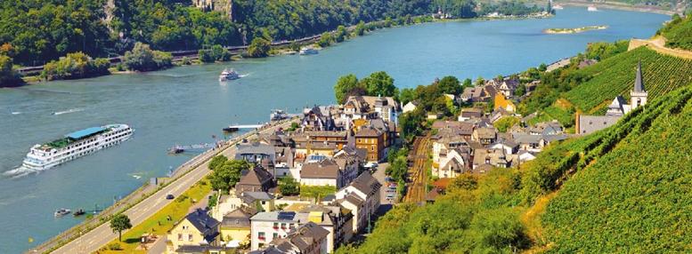 Autocar - Croisière sur le Rhin Romantique - Région Grand Ouest & Paris