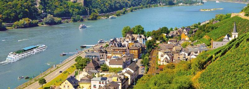 Autocar - Croisière sur le Rhin Romantique - Région Rhône-Alpes & PACA