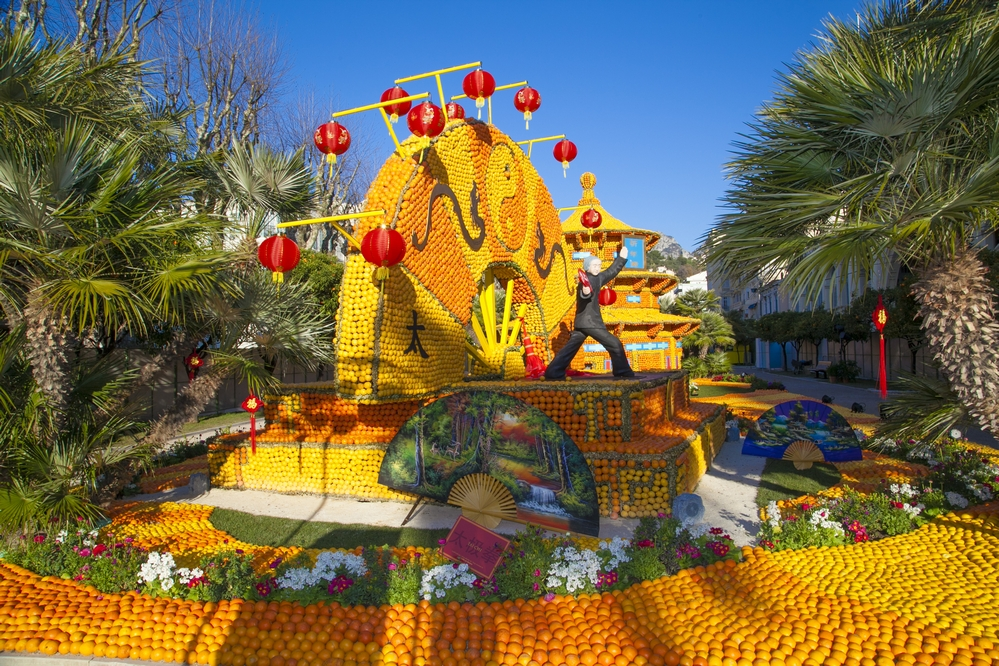 Autocar - Carnaval de Nice, Bataille des Fleurs, Fête des Citrons - Région Grand Ouest & Paris